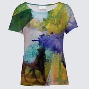 T-Shirt La voyageuse