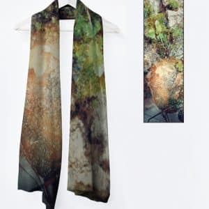 Vivienne foulard-collection Frimas au jardin
