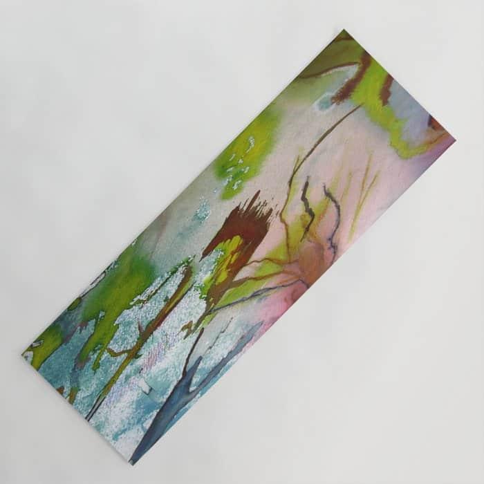 Tapis de yoga- Le poête