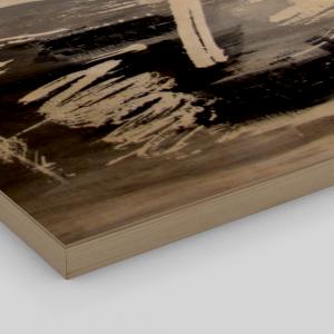 Imprimé sur bois