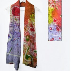Viviene foulard long: Collection Encore des lucioles