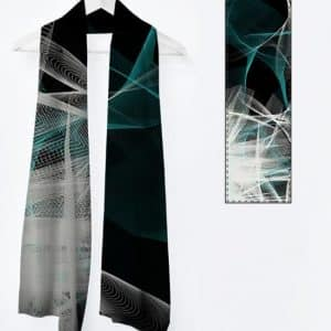 Vivienne foulard long